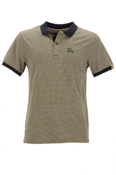 "Tokyo Laundry Polo ""Roma Springs"" - misty olive"