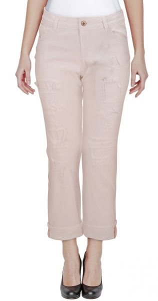 "*GEHEIMTIPP* 7/8 Jeans-Hose ""All - Y"" - white"