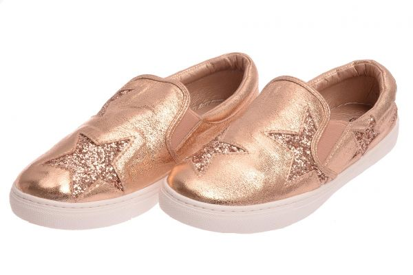 Low-Top Sneaker - champagne