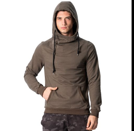 D & A Leichter Basic Hoodie - olive, grey, anthracite, white