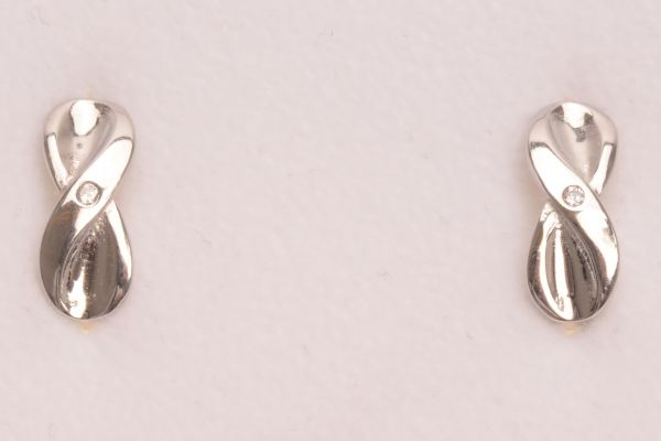 """Ohrringe aus 925 Sterling SIlber """"Infinity"""" - silver"""