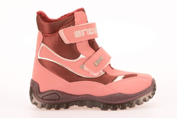 BOOTS PINK SNOW