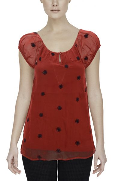 *GEHEIMTIPP* Summer Fun Shirt - dark red