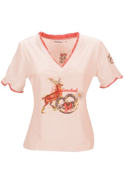 STOCKERPOINT GAUDINACKERL T-Shirt - white/rose