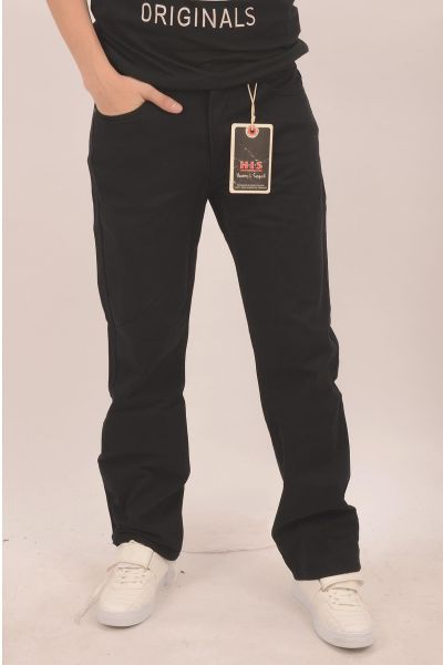 "H.I.S Jeans ""Henry"" Straight-Cut - dark black wash 3006"