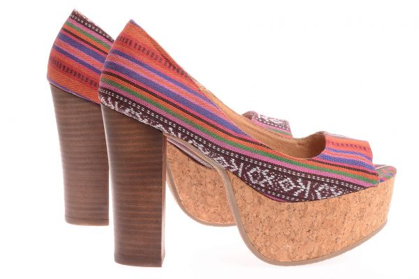 "Sixtyseven Pumps ""Inka"" Peeptoe Marit-S - Multicolor"