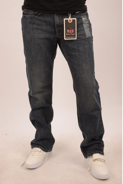 "H.I.S Jeans ""Henry"" Boot-Cut Jean - blue washed 3005"