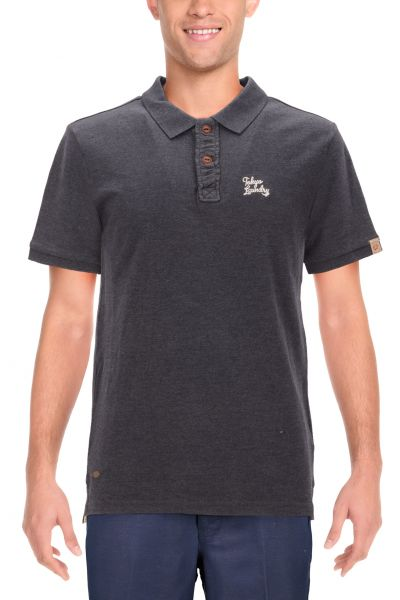 "Tokyo Laundry Polo ""Penn State"" - grey"