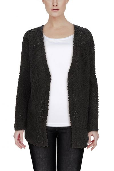 "Flauschiger Cardigan ""Monique"" - D9052"