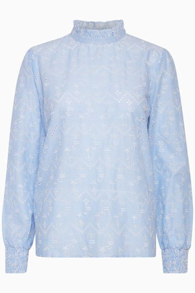 "b.young ""Gwendolyn Smock"" Bluse - blue"