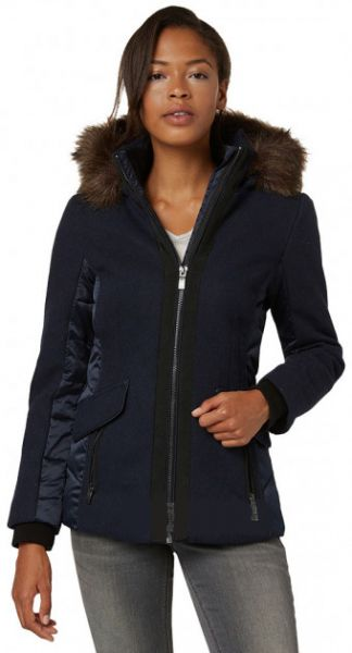 "Tom Tailor Winterjacke ""fabric mix jacket"""