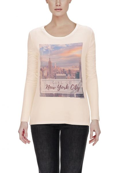 "*GEHEIMTIPP* Longsleeve ""Girl of New York City"""
