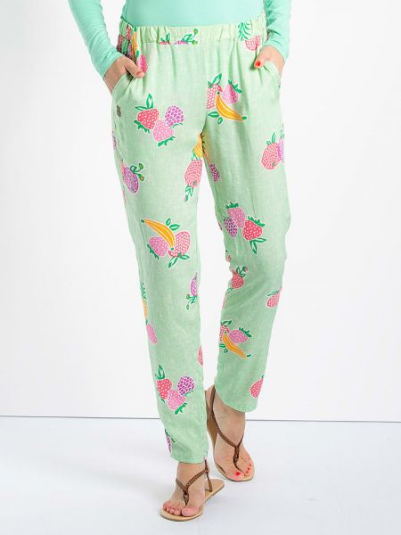 "Blutsgeschwister Stoffhose ""Rib Pants"" - juicy fruits"