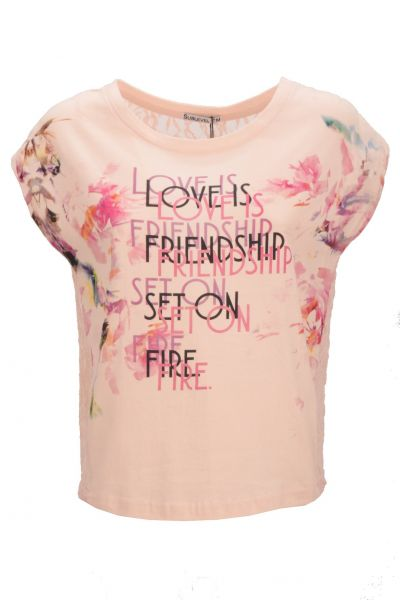 "*GEHEIMTIPP* Shirt ""Love or Friendship?"" - rose"