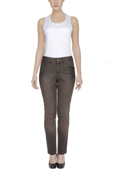 "Vila Joy Slim-Straight Jeans ""Ziban"" - grey"
