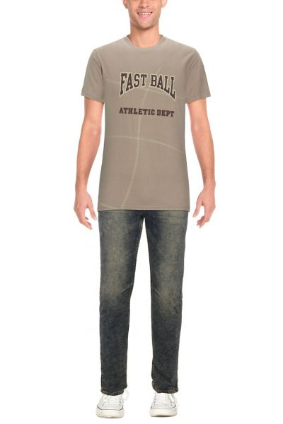 Sept Colline T-Shirt FAST BALL - grey/beige