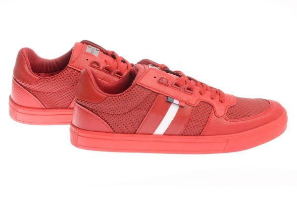 "Sportliche Low-Top Sneaker ""Mad"" - red 3027"
