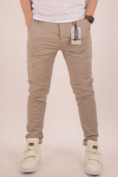 "*GEHEIMTIPP* Carrot-Fit Chino ""Chuck-G"" - light beige"