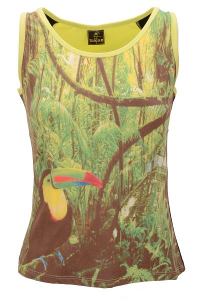 "Tucan Performance Tanktop ""Mexico"" - green"