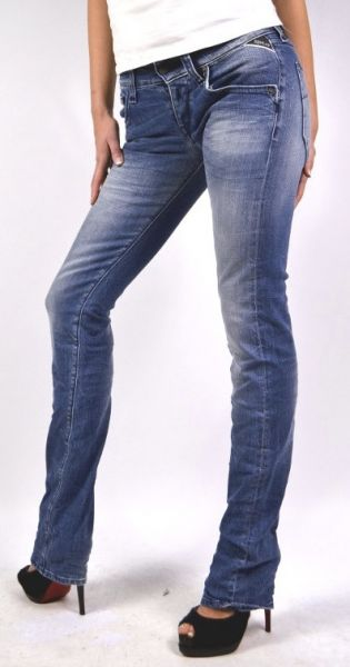 """Replay Jeans """"Newswenfani"""" relaxed-fit - blue"""