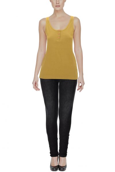 Gonzales Y Dolores Tank-Top - olive green