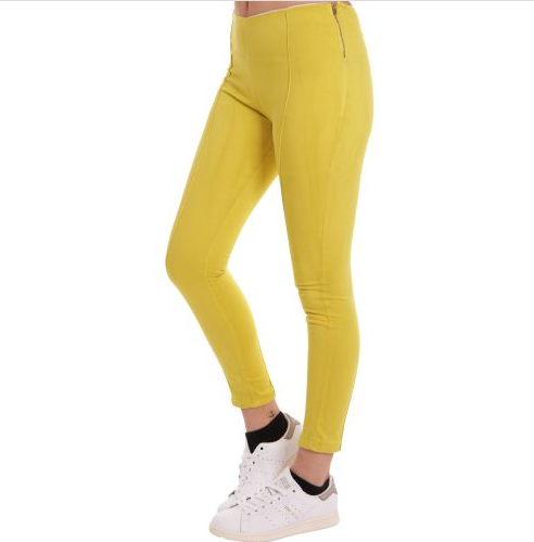 D & A Slim-FIt Sporthose - yellow