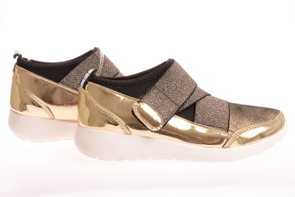 "Low Cut Sneaker 9337 ""Miranda"" - gold"