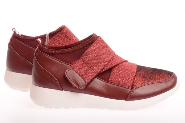 "Low Cut Sneaker 9337 ""Miranda"" - wine red"
