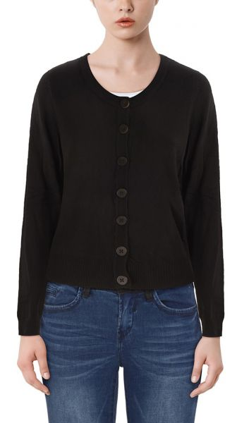 "Fransa Cardigan ""Zuvic"" - black"