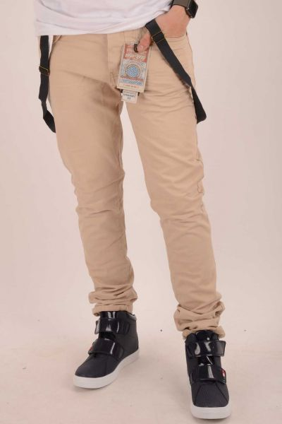 "*GEHEIMTIPP* Straight-Cut Jean ""Tom"" - beige"