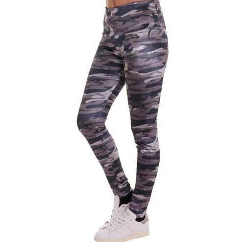 D & A Performance Leggings - camo design 3 grey