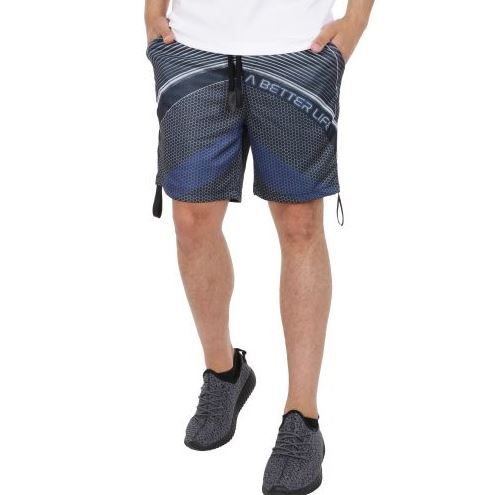 D & A Funktionale Shorts - grey-blue