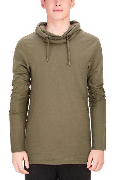 "Sweat mit Rollkragen ""Earn"" - olive/navy/anthracite"