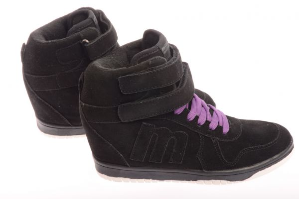 "MTNG ""Crosta"" - High Sneaker - black"