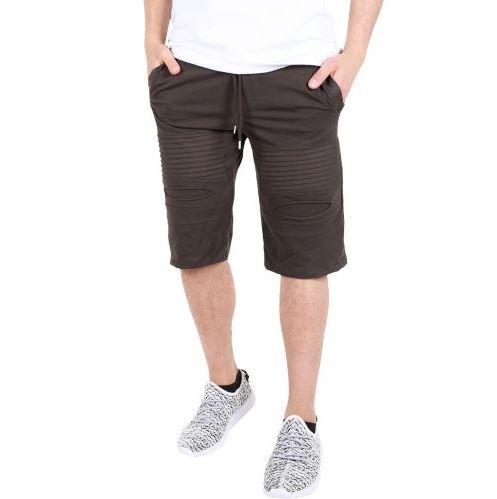 D & A Ripped Performance Shorts - white, black, olive