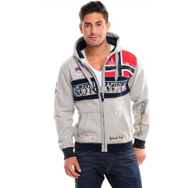 "Geographical Norway Sweatjacke ""Flyer"""