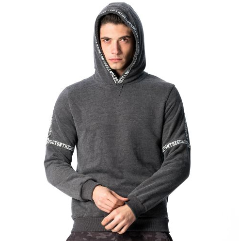 "D & A Hoody ""Get on"" - black, olive, dark grey"
