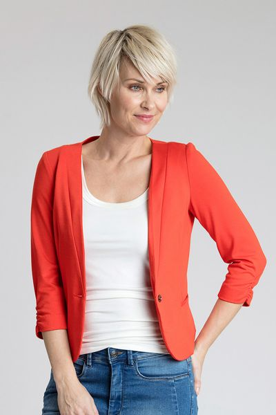 Fransa Omlay Blazer - red, navy, white