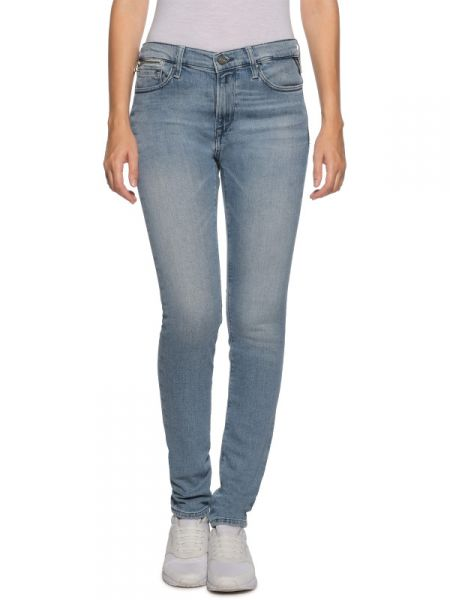 """Replay Jeans """"Zackie"""" Skinny-Fit - icy blue"""
