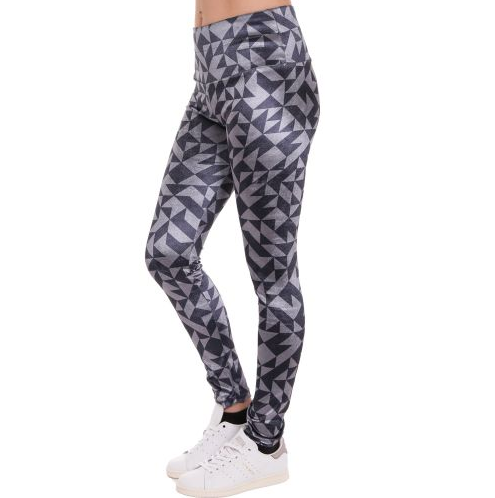 D & A Performance Leggings im tech-Design 12 - grey, anthracite