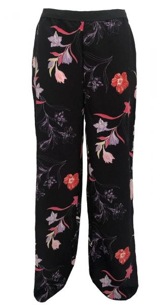 b.young Stoffhose mit Blumenmuster - multi