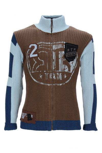 Rusty Neal STRICKJACKE BRAUN