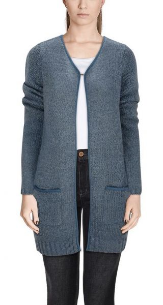 "Vila Joy Cardigan ""Punch"" light blue"