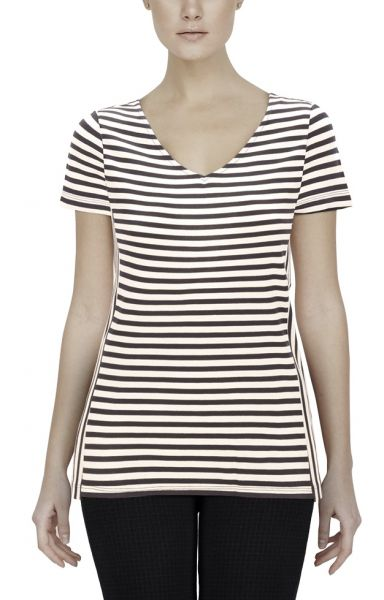 "*GEHEIMTIPP* Shirt ""Yacht Club-Stripes"" dark blue/white"