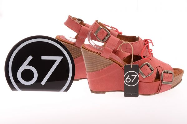 """Sixtyseven Collection Plateau Sandalen """"Urban"""" - rose"""