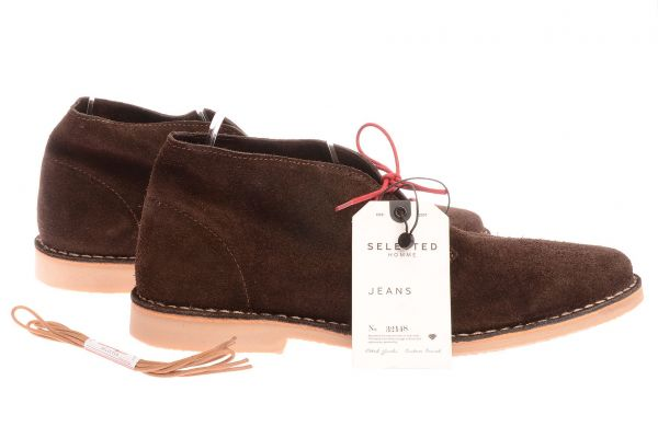 "Selected Homme Sneaker ""SEL LEON NOOS C"" dark brown"