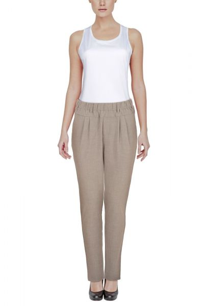 b.young Elegante Enrikke Mix Pants - grey