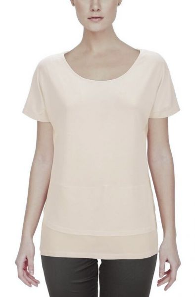 b.young Sevindro T-Shirt - white, peach