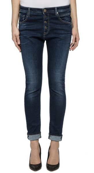 "Replay Jeans ""Pilar"" boy-fit - dark blue wash"