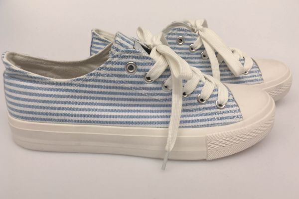 "*GEHEIMTIPP* Low-Top Sneaker ""Hokana"" - blue/white"